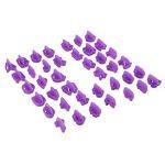 Yookay Fondant Emporte-pièces lettres de l'alphabet, 40Lettre et numéro découpes/moules Meilleur DIY Emporte-pièces pour décoration de gâteaux de la marque Yookay image 4 produit