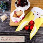 Yosemy Sacs à bonbons Sac Biscuit Mignons Motif Sac Pochette Sachet, Mignons Oreilles de 50 Pièces Sacs forme Alimentaire Biscuits Bonbons Sacs de Cadeaux pour les Enfants de la marque Yosemy image 1 produit