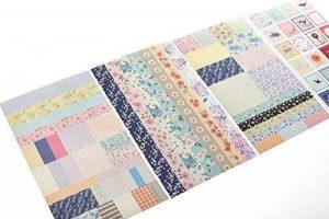 YPSelected Ensemble de 8 feuilles Étiquetage Paquet Floral Deco Stickers Papier autocollant Scrapbooking de la marque YPSelected image 0 produit