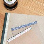 YPSelected Ensemble de 8 feuilles Étiquetage Paquet Floral Deco Stickers Papier autocollant Scrapbooking de la marque YPSelected image 2 produit