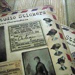 YPSelected Lot de 10 feuilles Autocollants vintages Déco Stickers Papier autocollant Scrapbooking de la marque YPSelected image 1 produit