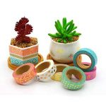 YUYIKES 6 Pcs Washi Masking Tape Décoratif pour Scrapbooks, bricolage Artisanat et Cadeau Emballage Fournitures de Bureau de la marque YUYIKES image 1 produit