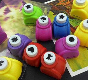 Zantec 5pcs Paper Punch Hole Puncher papier Shaper avec 5formes de la marque Zantec image 0 produit