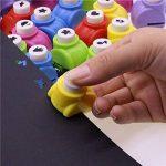 Zantec 5pcs Paper Punch Hole Puncher papier Shaper avec 5formes de la marque Zantec image 1 produit
