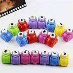 Zantec 5pcs Paper Punch Hole Puncher papier Shaper avec 5formes de la marque Zantec image 2 produit