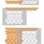 ZULU Meubles Mur Sol Pochoir Pour Peinture - Meubles Petit de la marque Dizzy Duck Designs image 2 produit